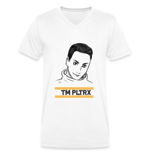 TEAM PLAYTRX - (V-Ausschnitt) [FÜR JUNGS] - GLATTE FLÄCHE - Männer Bio-T-Shirt mit V-Ausschnitt von Stanley & Stella