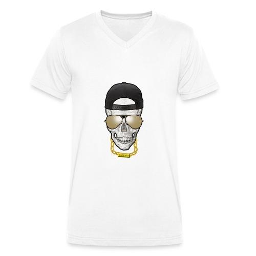 THUG SKULL #PAYBACK - T-shirt bio col V Stanley & Stella Homme