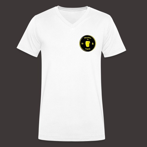 Männer, V-Ausschnitt, Baumwolle, ringgesponnen, leicht - Männer Bio-T-Shirt mit V-Ausschnitt von Stanley & Stella