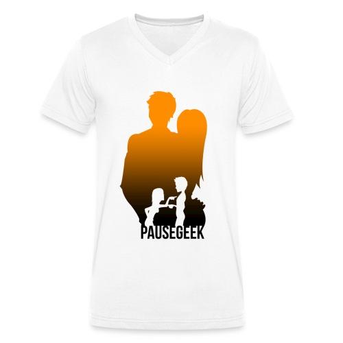 T-Shirt PauseGeek - T-shirt bio col V Stanley & Stella Homme