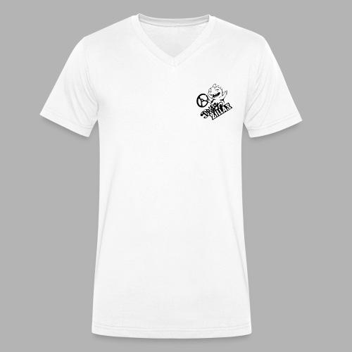 DriftZillas Simple T - Men's Organic V-Neck T-Shirt by Stanley & Stella