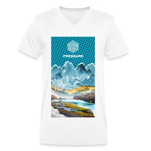 Pressure Mountains V - Männer Bio-T-Shirt mit V-Ausschnitt von Stanley & Stella
