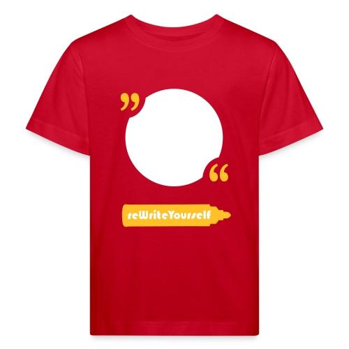 Quote - Maglietta ecologica per bambini