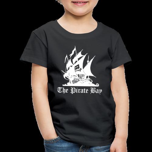 T-shirt barn Premium, TPB The Pirate Bay - Premium-T-shirt barn