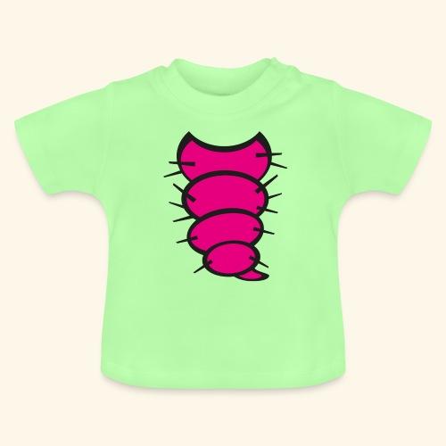 Baby / Kinder Raupen T-Shirt Grün - Baby T-Shirt