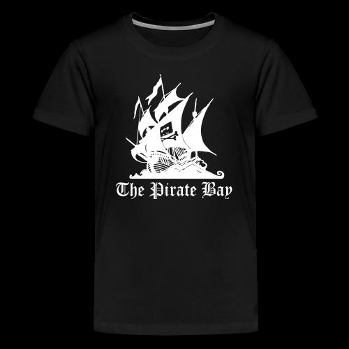 T-shirt tonåring Premium, TPB The Pirate Bay - Premium-T-shirt tonåring