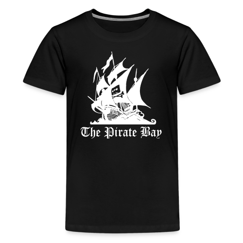 T-shirt tonåring Premium, TPB The Pirate Bay - Premium-T-shirt tonåring
