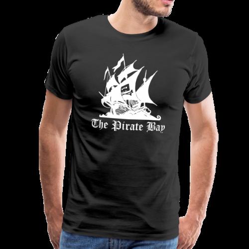 T-shirt Premium, TPB The Pirate Bay - Premium-T-shirt herr