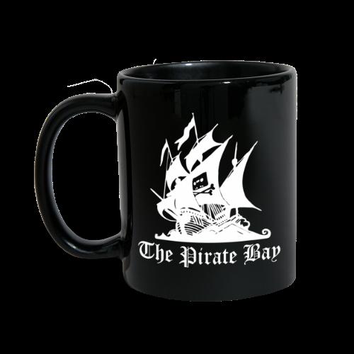 Mugg, TPB The Pirate Bay - Enfärgad mugg