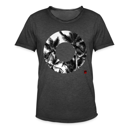 RING SHIRT - Männer Vintage T-Shirt