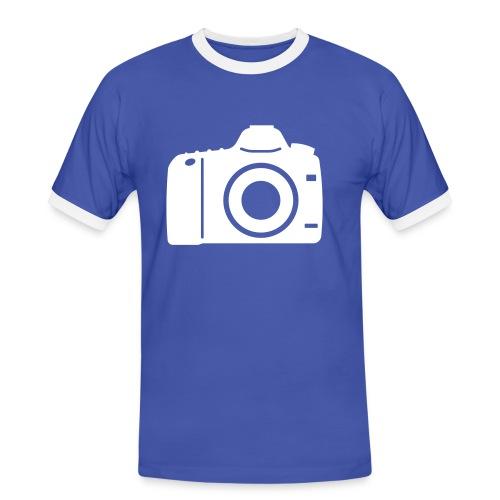 Mannen SHIRT 'photographer' - Mannen contrastshirt