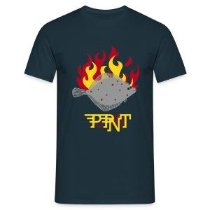 Vis POPNOT - Mannen T-shirt