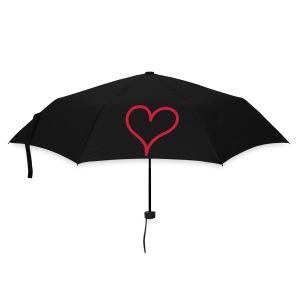 Hart paraplu - Paraplu (klein)