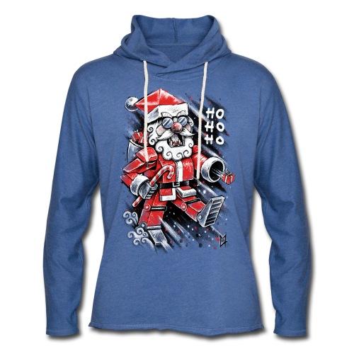 Robot Santa Claus - Light Unisex Sweatshirt Hoodie