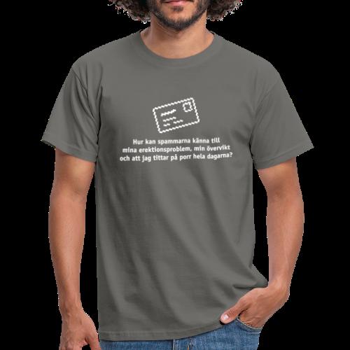 T-shirt, Hur kan spammarna... - T-shirt herr