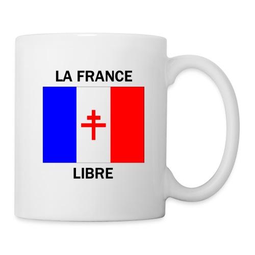 La France Libre - Mug blanc