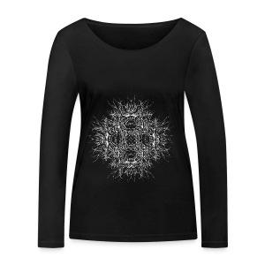 dunkler szern - Frauen Bio-Langarmshirt von Stanley & Stella