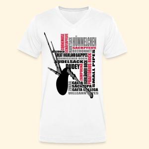 Männer TShirt V-Kragen - Dudelsack - Männer Bio-T-Shirt mit V-Ausschnitt von Stanley & Stella