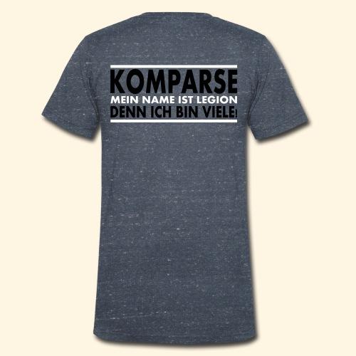 Männer T-Shirt - Komparse (rückseite) - Männer Bio-T-Shirt mit V-Ausschnitt von Stanley & Stella