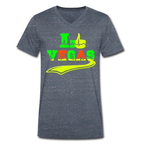 I like Las Vegas - Men's Organic V-Neck T-Shirt by Stanley & Stella