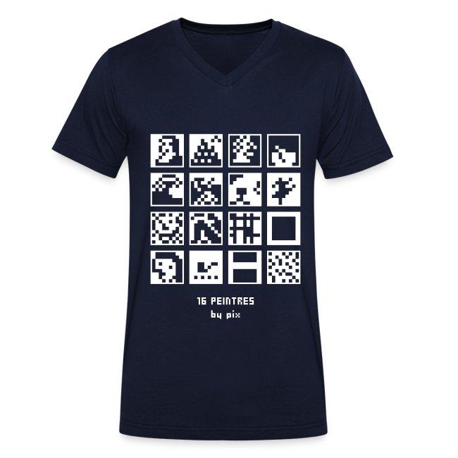 T-shirt-jeu 16·peintres