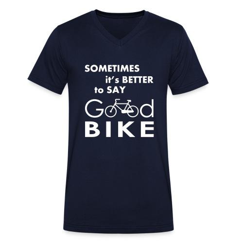 Good Bike - T-shirt ecologica da uomo con scollo a V di Stanley & Stella