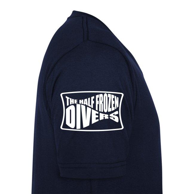 Lucky Diver-Col V-Logo manche