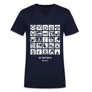 T-shirt-jeu BD/Animation - T-shirt bio col V Stanley & Stella Homme
