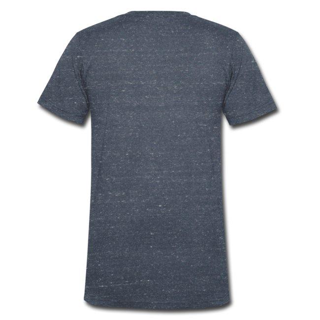 Dein Romeo Name auf geilem T-Shirt von Canvas mit V-Kragen
