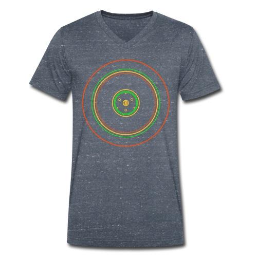 16 Zoll Felge V-Kragen Shirt - Männer Bio-T-Shirt mit V-Ausschnitt von Stanley & Stella