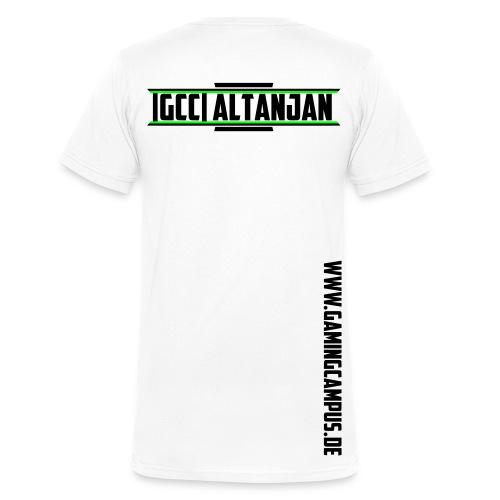 [GCC] Altanjan - Männer Bio-T-Shirt mit V-Ausschnitt von Stanley & Stella