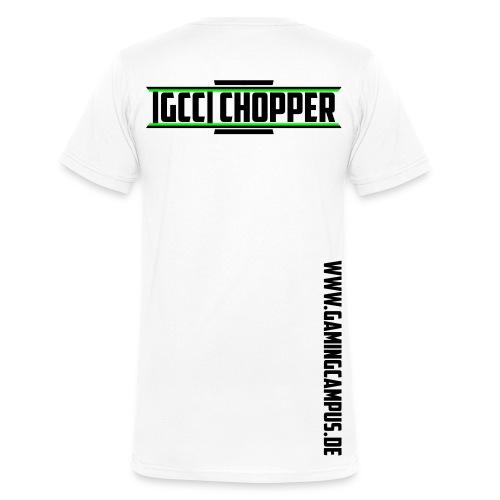 [GCC] Chopper - Männer Bio-T-Shirt mit V-Ausschnitt von Stanley & Stella