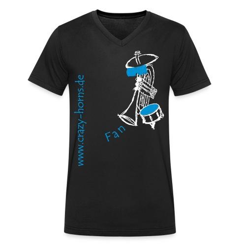 Männer Bio-T-Shirt mit V-Ausschnitt von Stanley & Stella - Unser Fan-Shirt für alternative Männer und Freunde der Crazy Horns. Achtung: Die Größen der T-Shirts fallen evtl. etwas größer aus. Bitte beachtet die Größen in der Maßtabelle!
