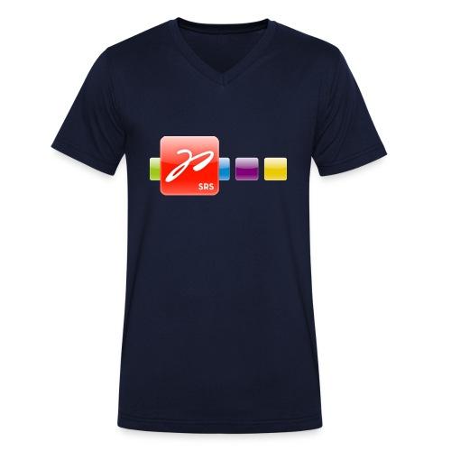 Männer Bio-T-Shirt mit V-Ausschnitt von Stanley & Stella - Männer Shirt