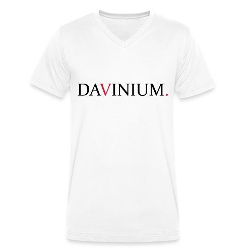 DVM V-Hals - Mannen bio T-shirt met V-hals van Stanley & Stella