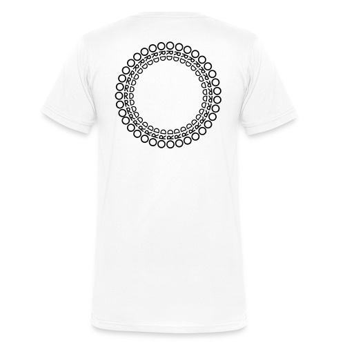ORD I RING - Ekologisk T-shirt med V-ringning herr från Stanley & Stella