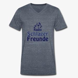RSF Fanshirt - Männer Bio-T-Shirt mit V-Ausschnitt von Stanley & Stella