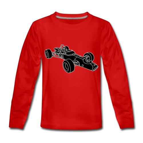 Rennwagen 2 - Teenager Premium Langarmshirt