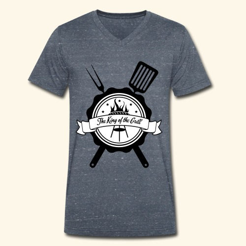 The king of the grill - T-shirt bio col V Stanley & Stella Homme