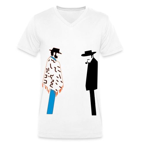 The Good The Bad ... - T-shirt bio col V Stanley & Stella Homme