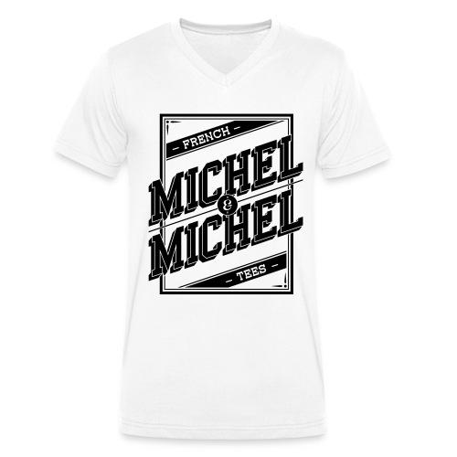 V-Tee MICHEL&MICHEL - T-shirt bio col V Stanley & Stella Homme
