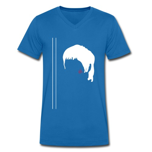 Bruce blue - T-shirt bio col V Stanley & Stella Homme