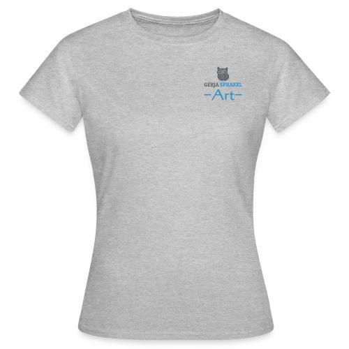 tshirtvrouw1 - Vrouwen T-shirt
