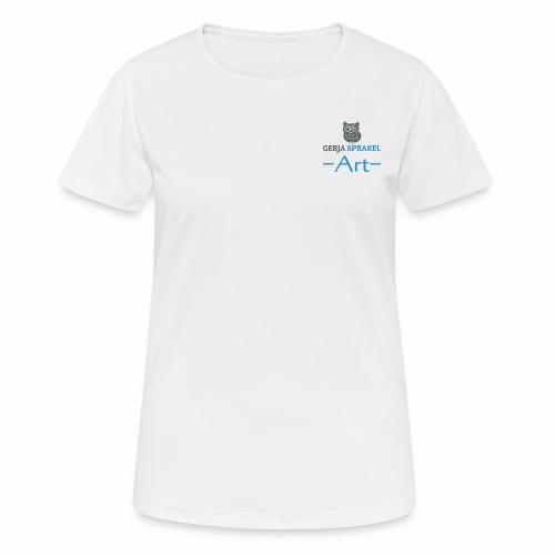 tshirtvrouw2 - vrouwen T-shirt ademend