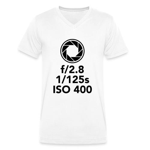 Diafragma - Mannen bio T-shirt met V-hals van Stanley & Stella