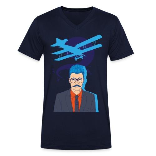 Aviator - T-shirt bio col V Stanley & Stella Homme