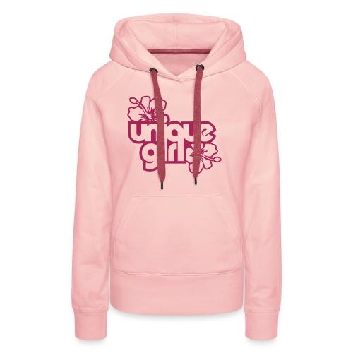 Girl - Bluza damska Premium z kapturem