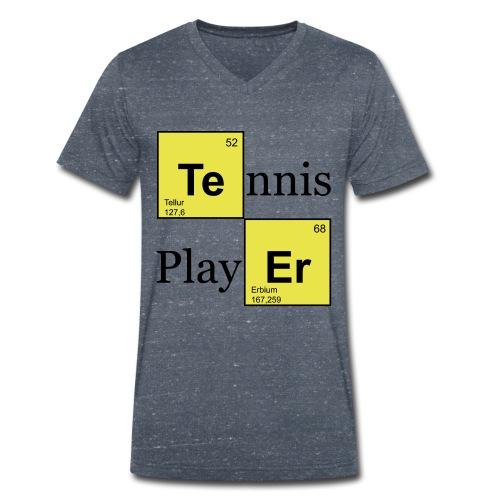 TEnnis-Shirt im  Style - Männer Bio-T-Shirt mit V-Ausschnitt von Stanley & Stella