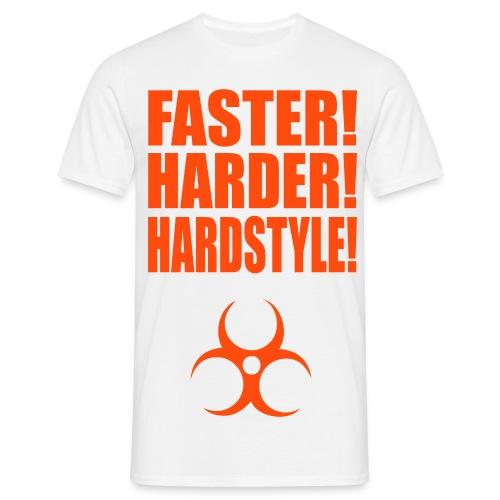 Herr T-Shirt med tryck, valfri färg - T-shirt herr