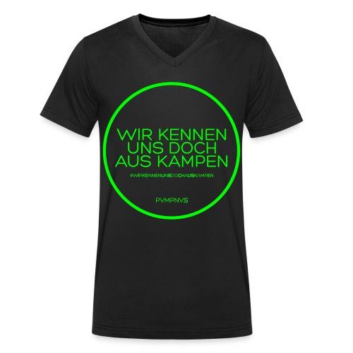 Man V-Neck Neon - Männer Bio-T-Shirt mit V-Ausschnitt von Stanley & Stella
